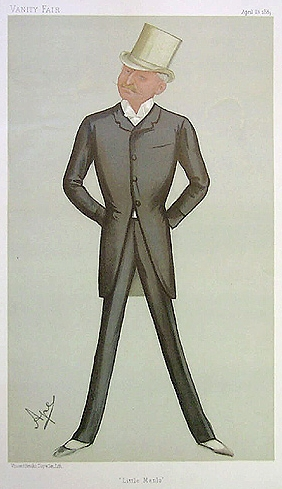 George Gouraud from Vanity Fair 13 April 1889