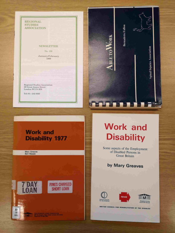 Publications on disability from the archive of the Association of Disabled Professionals