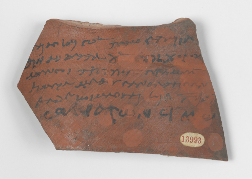 An ostracon issued for a sex-worker in ancient Egypt