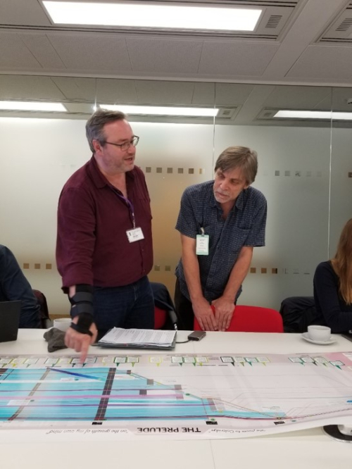"Karl and Alex discuss the finer points of ""The Prelude Timeline: On the Growth of My Own Mind"" by Alex Butterworth and Stephanie Posavec, for The Wordsworth Trust"