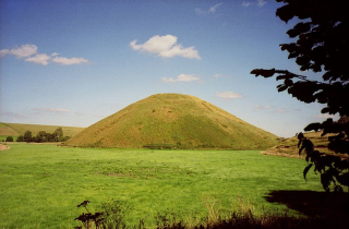 Photograph of Silbury Hill, Wiltshire