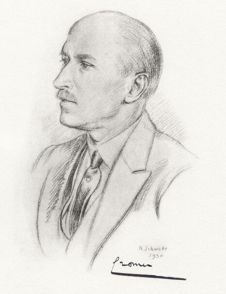 Portrait of Rowland Thomas Baring, 2nd Earl of Cromer 1930