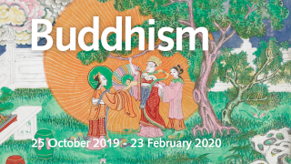 Buddhism exhibition - Buddha being born