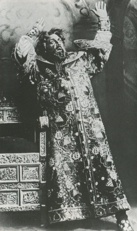 Chaliapin as Boris Godunov