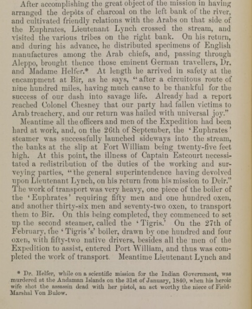 Page from C R Low, History of the Indian Navy
