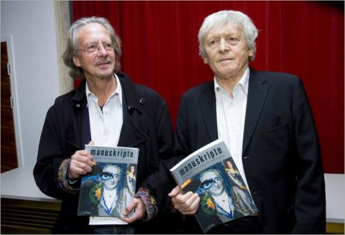 Alfred Kolleritsch und Peter Handke