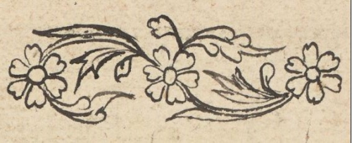 floral scrolls in a Bugis court diary from Bone  Add_ms_12373_f002r-flowers