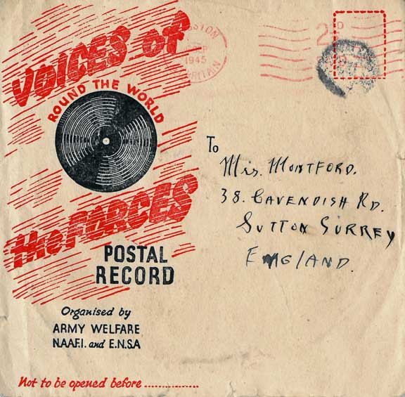 Voices of the Forces disc envelope