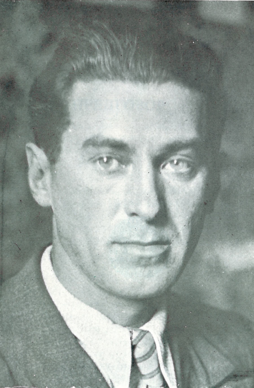 Portrait of Crnjanski in 1936