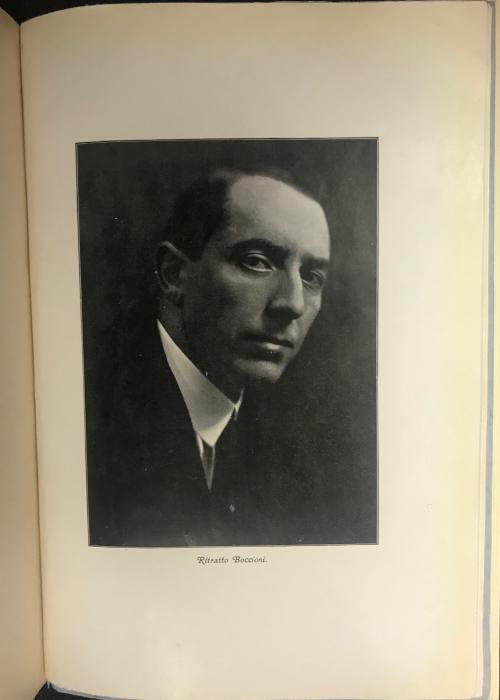 Portrait of Boccioni