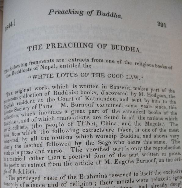 Dial preaching of buddha