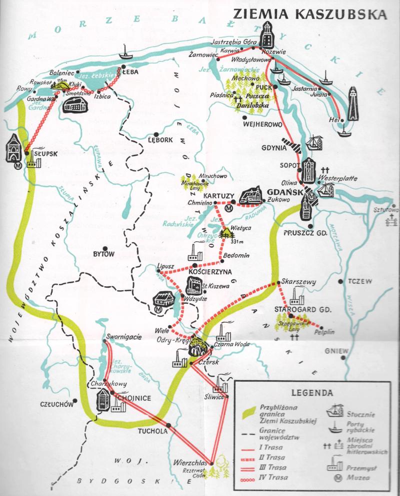 Kashubia Map 1963