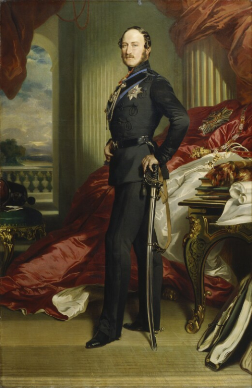 Prince Albert's portrait by Franz Xaver Winterhalter