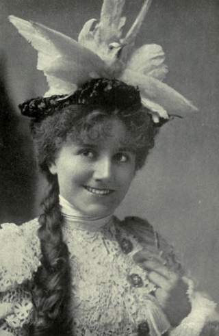 Picture of Ellaline Terriss, the voice of the event and well known artist of her day. Courtesy of Wikimedia Commons.