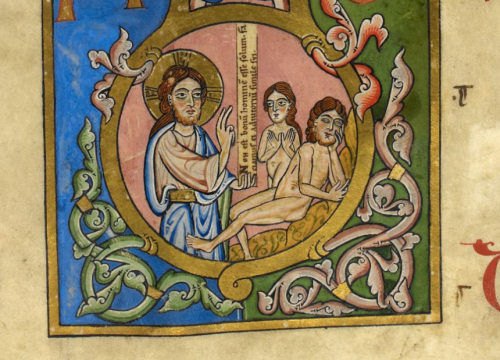 Detail of the Creation of Eve