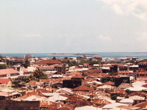 Zanzibar Town panorama