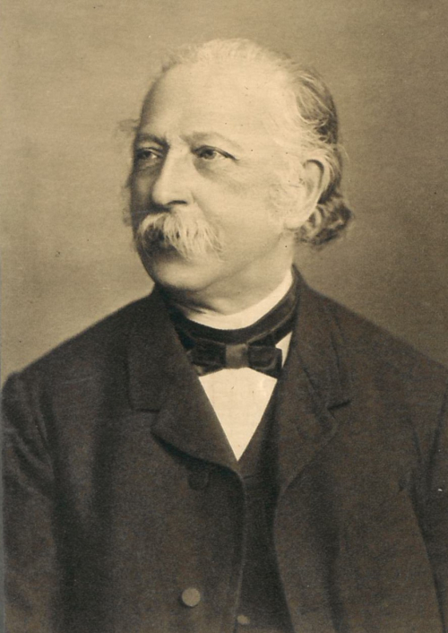 Portrait of Fontane as an older man