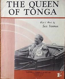 The-Queen-Of-Tongaby-Jack-Fishman-Songvintage-Sheet