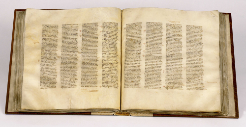 Codex Sinaiticus, one of the world's oldest biblical manuscripts and the oldest surviving manuscript to contain the complete New Testament