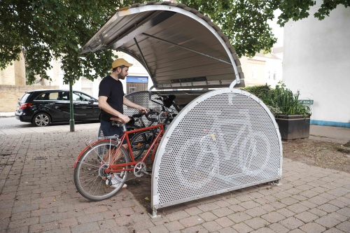 Cyclehoop bike storage