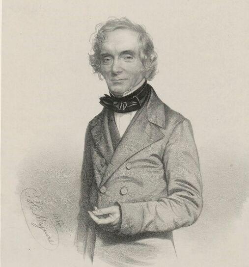 William John Burchell by Thomas Herbert Maguire