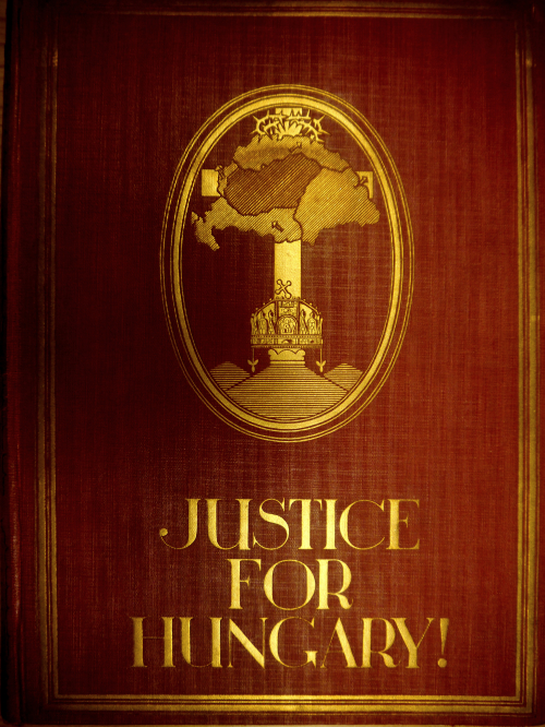 Cover of 'Justice for Hungary'