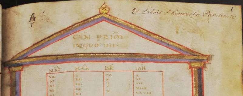 Image 6 - Wanley's 'Golden Gospels'