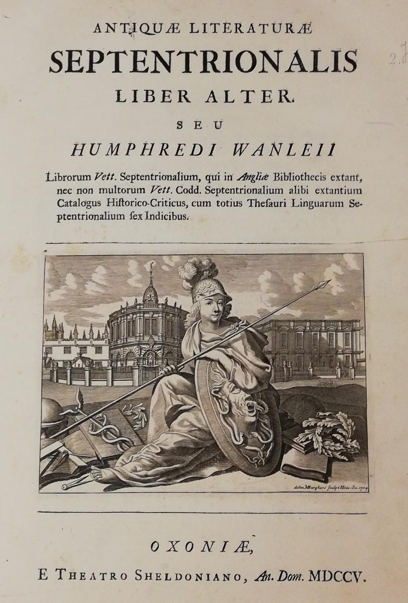 Image 7 -  Catalogue of Old English Manuscripts