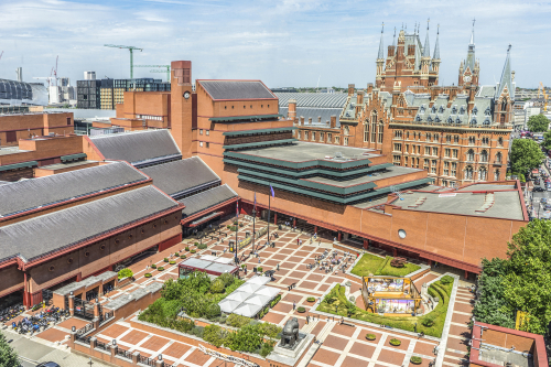 British Library from Pullman Hotel (Credit Tony Antoniou) resized