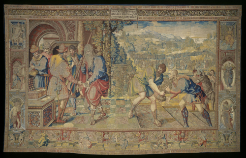 A tapestry of the story of Abraham