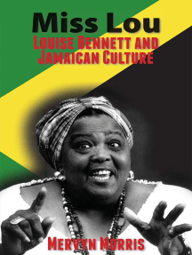 Front cover of book Miss Lou : Louise Bennett and Jamaican Culture by Mervyn Morris