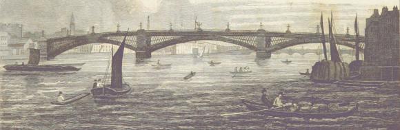 Southwark Bridge c.1825