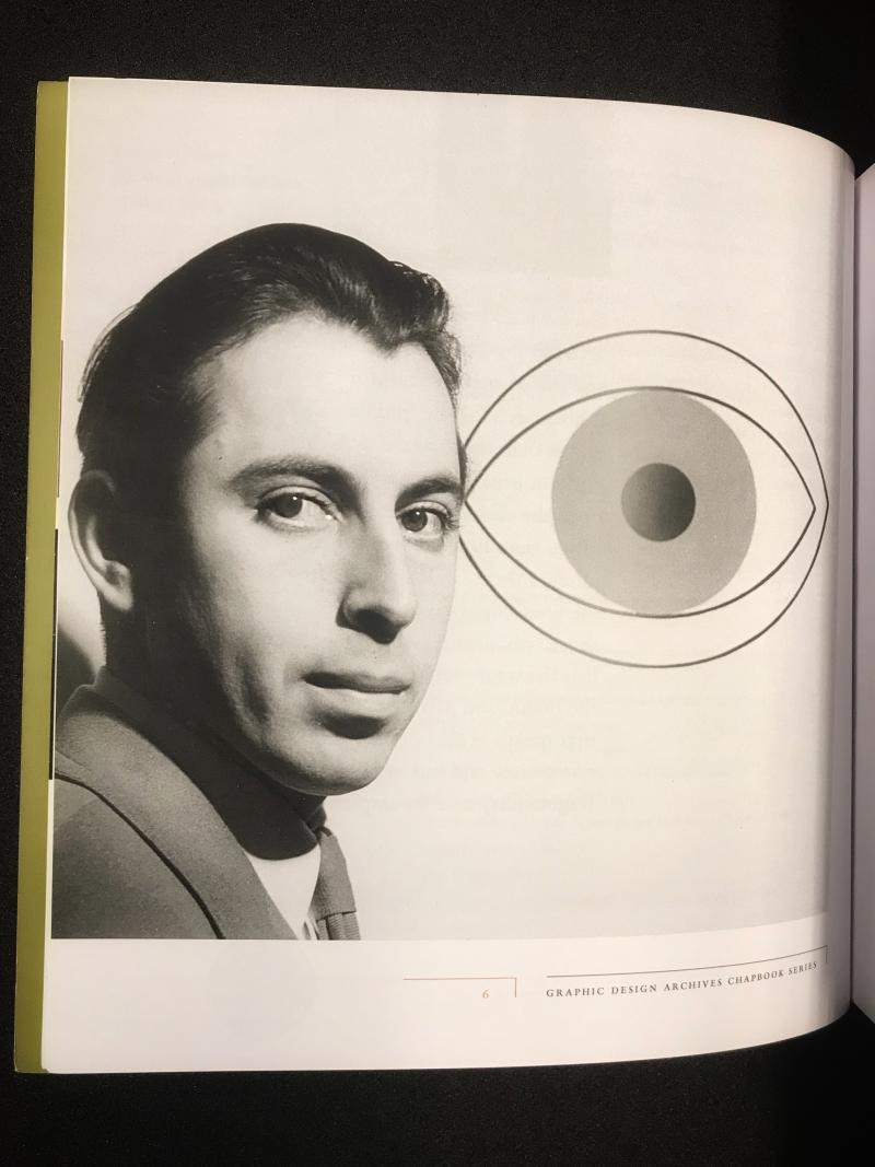 2_Black and white portrait photograph of Alvin Lustig