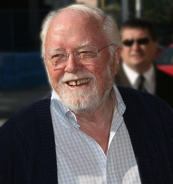 Richard Attenborough at the 2007 Toronto International Film Festival