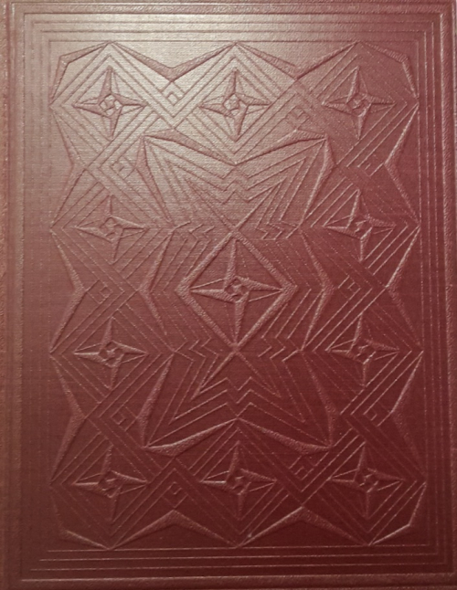 Cover of 'Vsemu navzdory' with a repeated geometric design