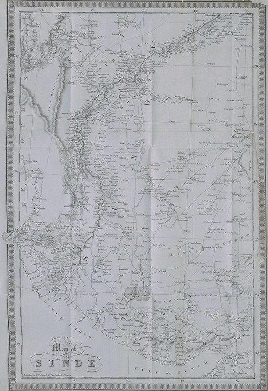 Map of Sindh