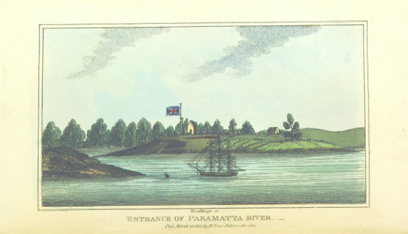 Entrance of Parramatta River c.1802