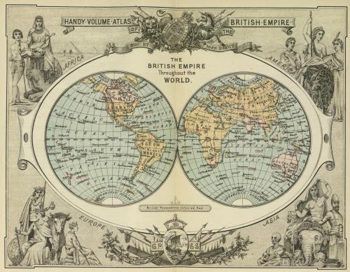 The British Empire through the world