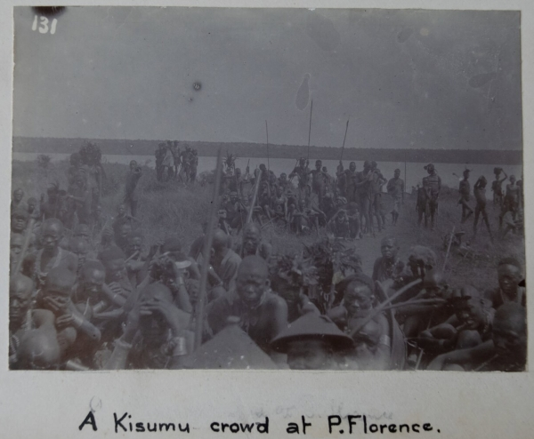 Kisuma crowd at P. Florence
