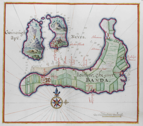 Map of Banda Islands