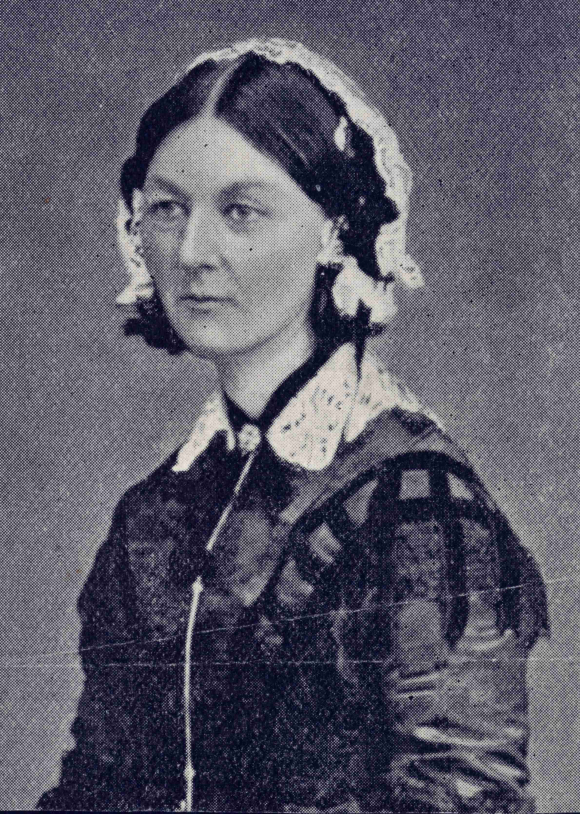 Photograph of Florence Nightingale about 1860