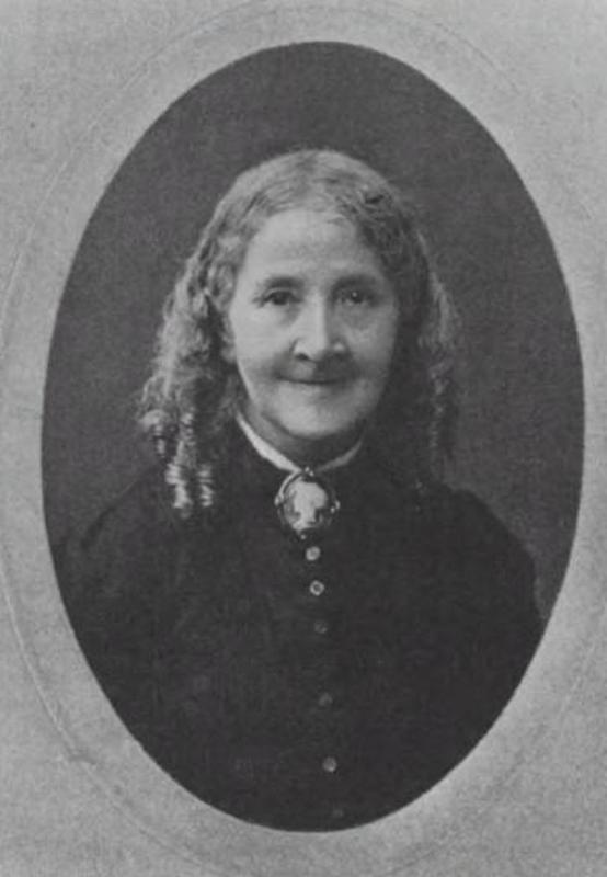 Photograph of Elizabeth Wolstenholme Elmy