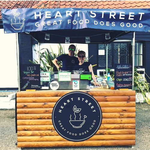 Heart Street food stall