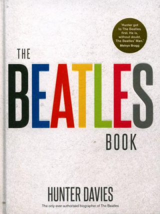 Book jacket for The Beatles Book by Hunter Davies