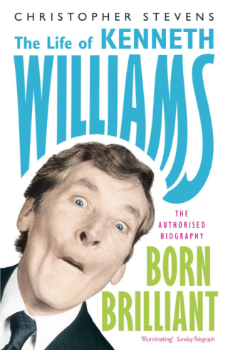 Book jacket for The Life of Kenneth Williams by Christopher Stevens