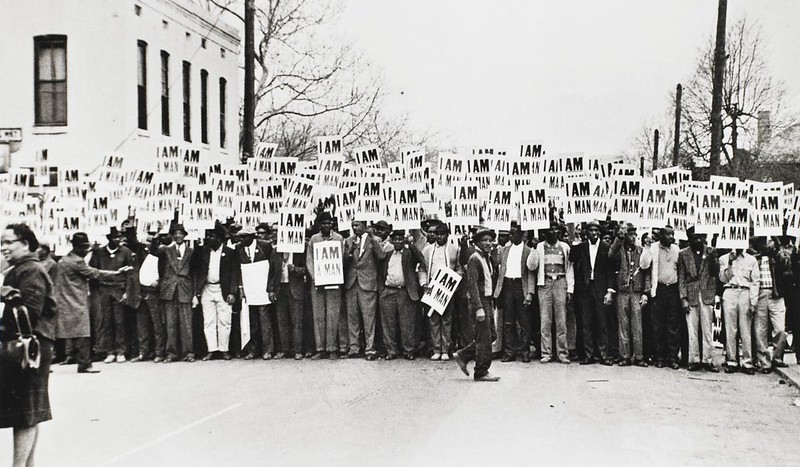 Withers Memphis sanitation workers
