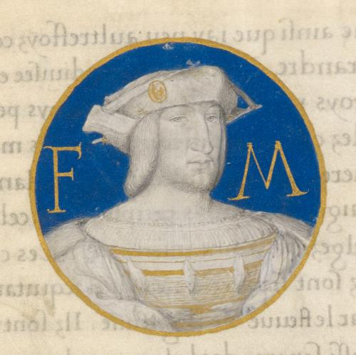 Portrait of King François I