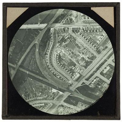 Aerial photograph by Cecil Victor Shadbolt