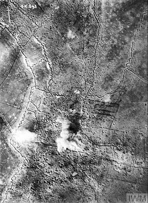 WW1 aerial photograph
