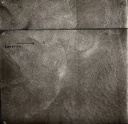 Aerial photographs of Somalia boundary